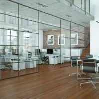 wykończenie pomieszczeń biurowych ze stali